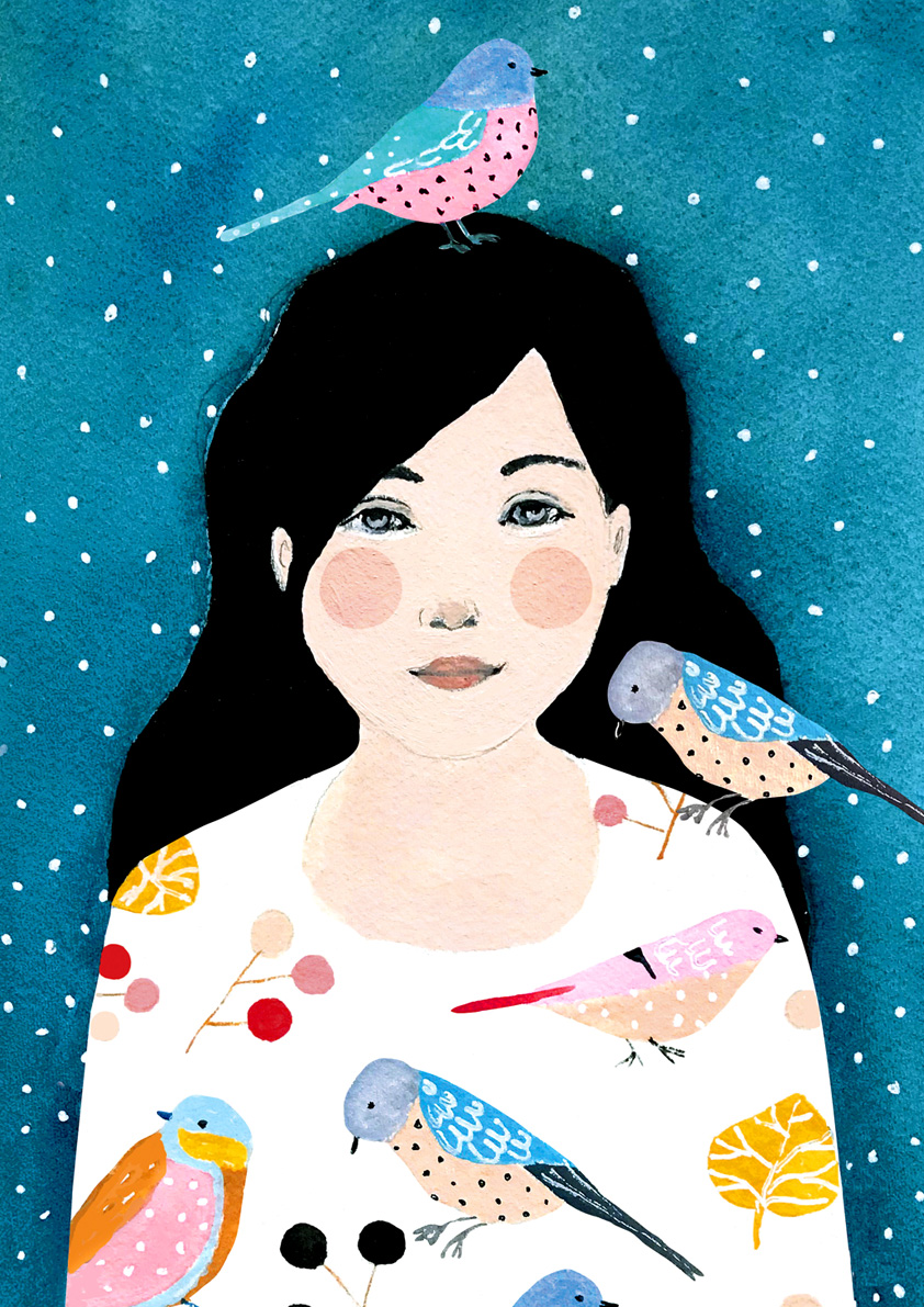 Louise aux oiseaux